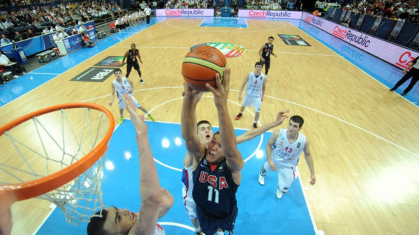 2013 Fiba U19 Mvp Aaron Gordon Throws Down Hard Alley Oop In Gold Medal Game Video