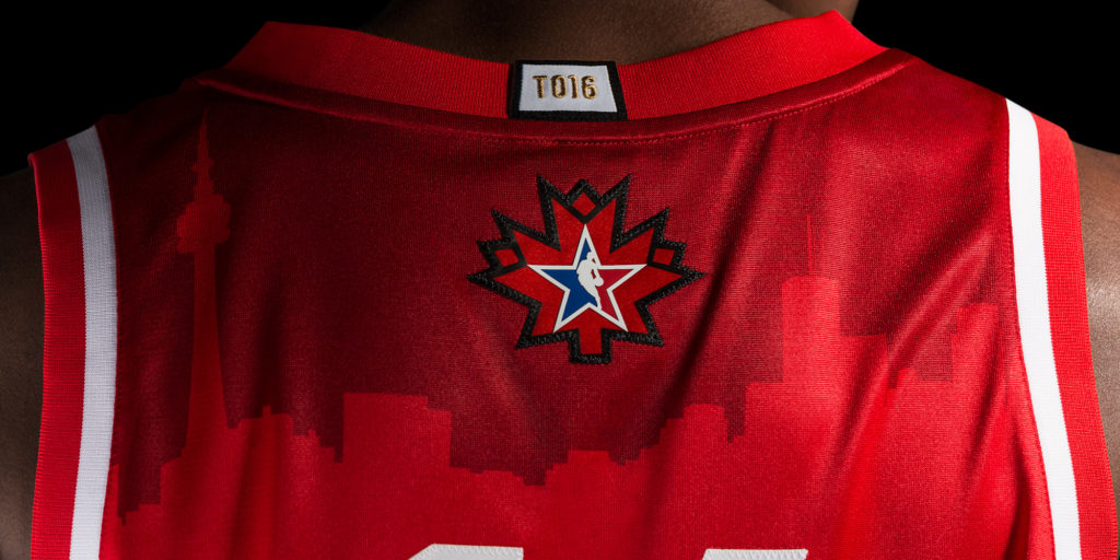 Toronto Takes It Back To First-Ever NBA Game For 2016 All-Star Jerseys