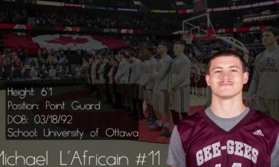 2016 CIS/Usports Basketball POY Mike L'Africain Official Mixtape