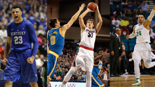 2016 March Madness Murray Wiltjer Brooks Highlight 23 Canadians Across 17 Teams