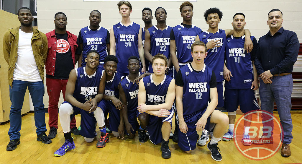 2016 Ottawa Basketball All Star Game West Team Senior