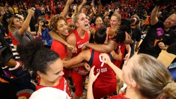 2019 Champion Washington Mystics Mystify The WNBA