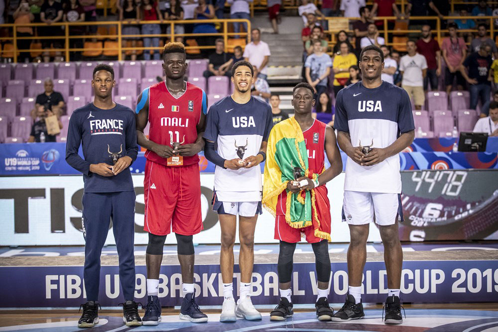2019 Fiba U19 World Cup All Stars