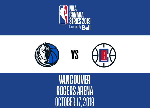 2019 Nba Canada Series Clippers Mavericks Vancouver Nba
