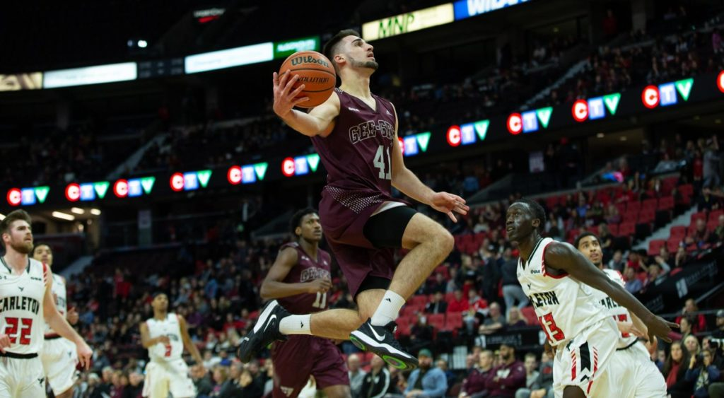 Ottawa Gee-Gees Guillaume Pepin - 2019 Oua Men's Playoff Preview: Round One