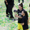Breanna Stewart And Sue Bird Celebrate Seattle Storm 2020 Wnba Champions