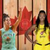 Bridget Carleton, Kia Nurse, Kayla Alexander, Natalie Achonwa and 5 Canadian Storylines To Watch As WNBA Eyes Summer Return