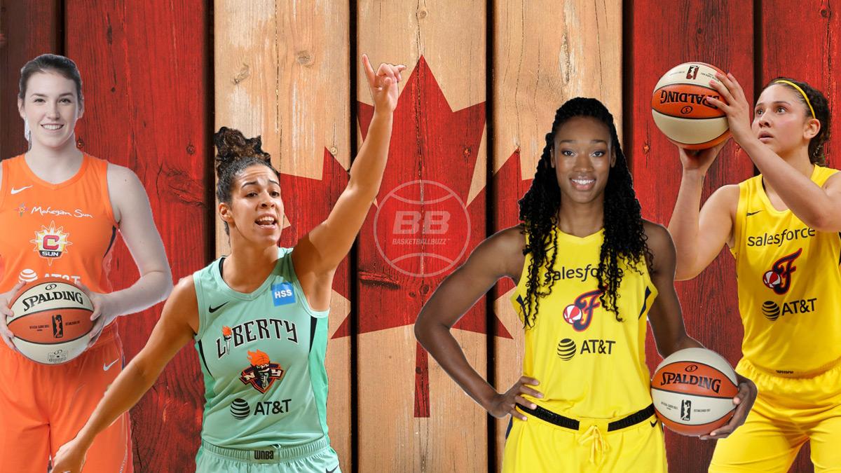 Bridget Carleton, Kia Nurse, Kayla Alexander, Natalie Achonwa and 5 Canadian Storylines To Watch As WNBA Eyes Summer Return