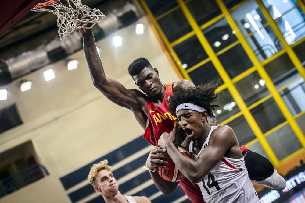 Abu Kigab Double Double Vs Angola FIBAU19