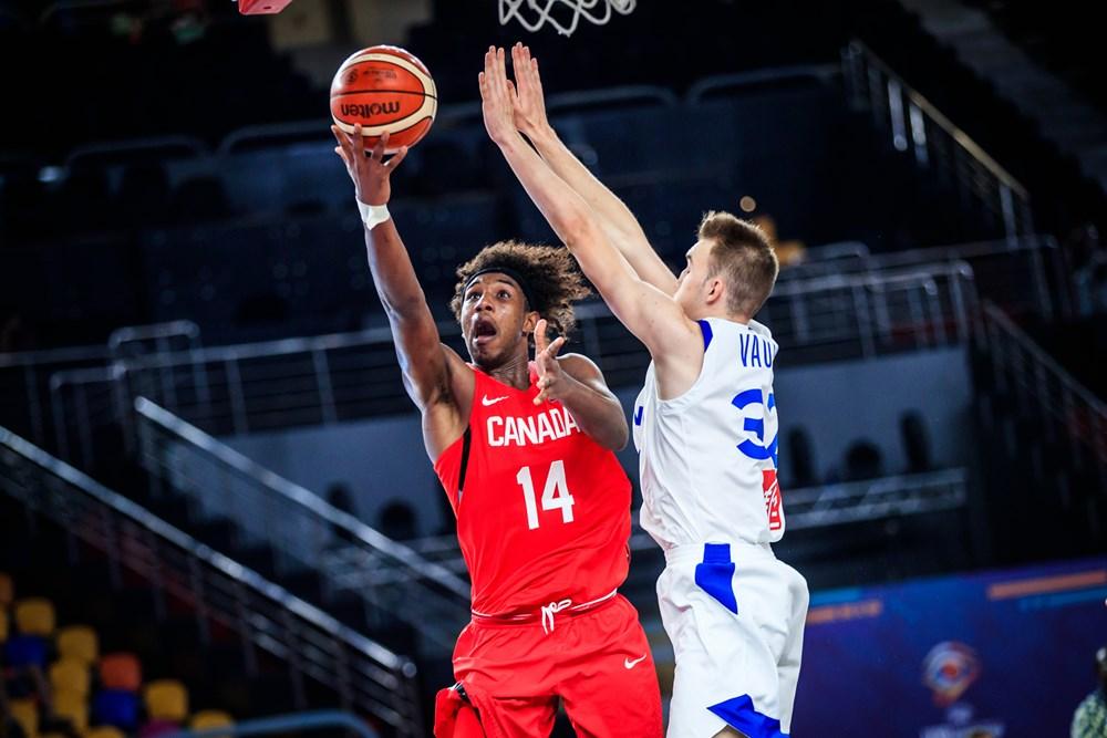 Abu Kigab Team Canada Vs France 2017 FIBA U19 World Cup