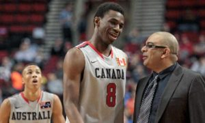 Andrew Wiggins Canada Basketball
