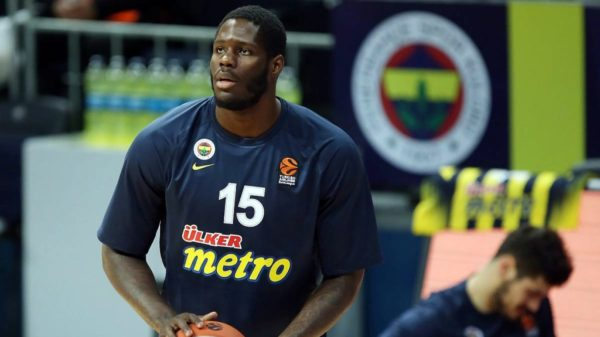Anthony Bennett Fenerbahce Warm Up EuroLeague