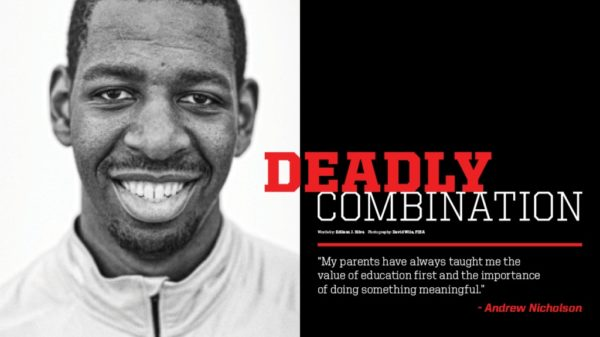 BasketballBuzz Magazine Issue 1 Andrew Nicholson Deadly Combination