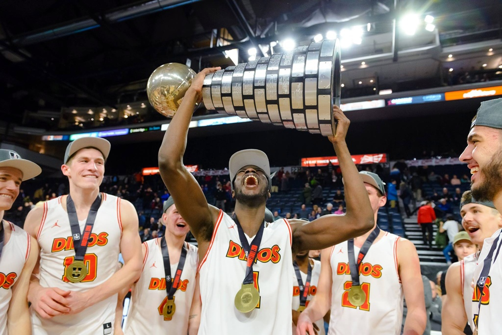 Calgary Dinos 2018 Usports National Basketball Mens Champions