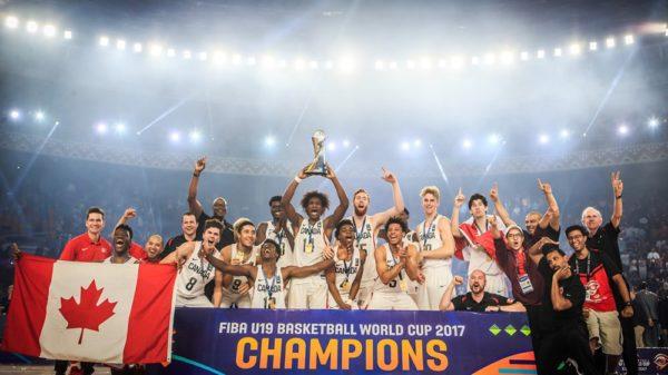 Canada 2017 FIBA U19 Worl Cup Champions