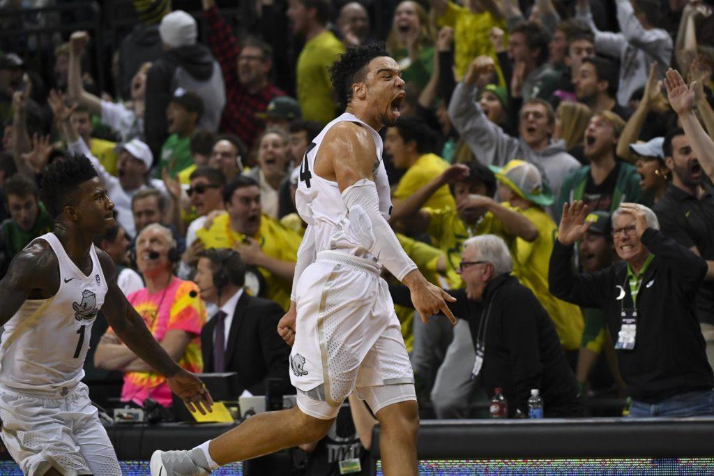Canadian Basketball Player Dillon Brooks Game Winner Beats UCLA