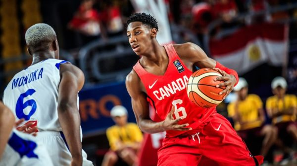 Canadian Basketball Rowan Barrett Jr 27 Point Game Vs