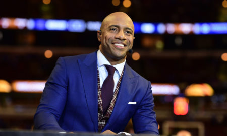 Chicago, IL - November 17, 2015 - United Center: Jay Williams on the set of College GameDay Covered by State Farm (Photo by Phil Ellsworth / ESPN Images)