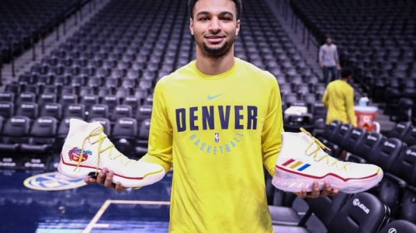 Jamal Murray Adidas Crazy Explosive Nuggets 50Th Year Anniversary Edition