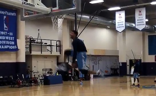 Jamal Murray Between The Legs Dunk Canadians In The NBA