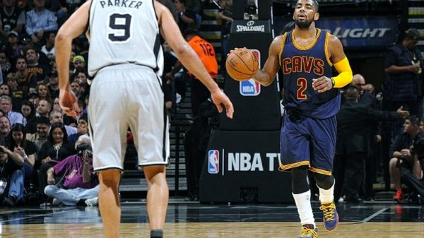 Kyrie Irving torches Spurs for career-high 57-points
