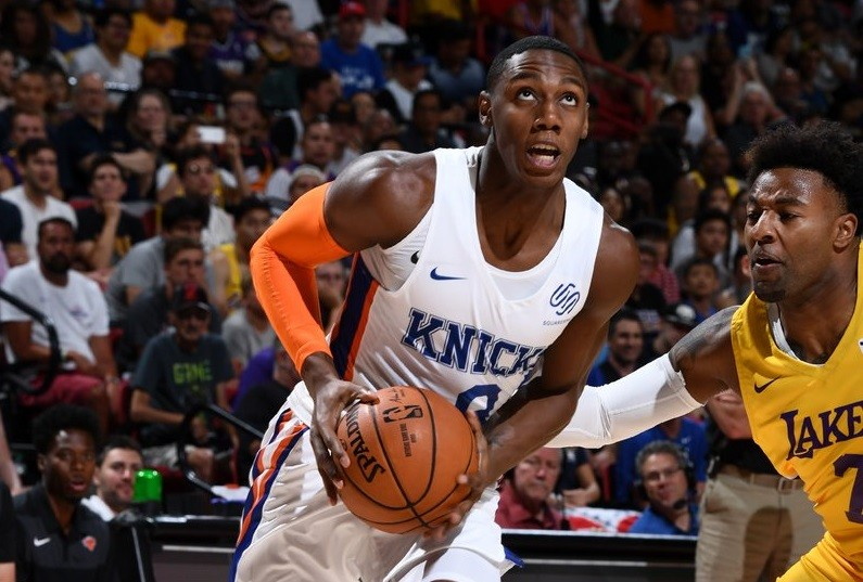 New Knick RJ Barrett Treated Las Vegas Summer League Like A New York Playground
