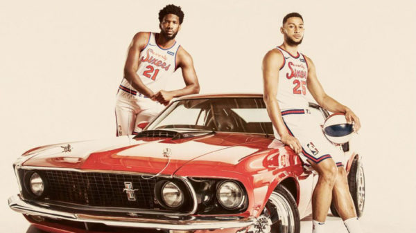New Nike Philadelphia Seventies Sixers Jerseys Are A Classic Edition