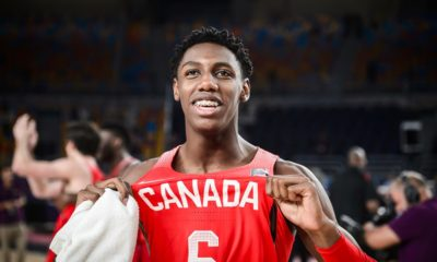 Rowan Barrett Jr Canada Beats USA 2017 FIBA U19 World Cup