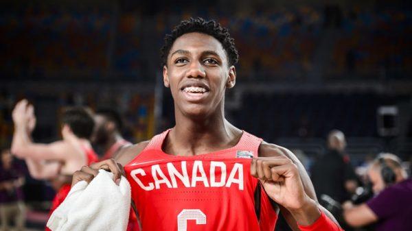 Rowan Barrett Jr Canada Beats USA 2017 FIBA U19 World Cup