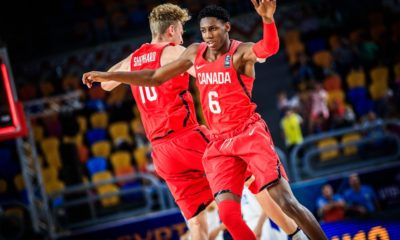 Rowan Barrett Jr Canada Vs France 2017 FIBAU19