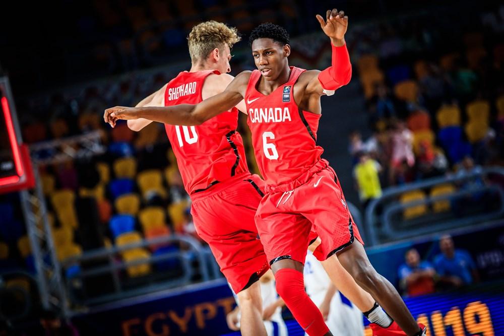 Rowan Barrett Jr Canada Vs France 2017 FIBAU19