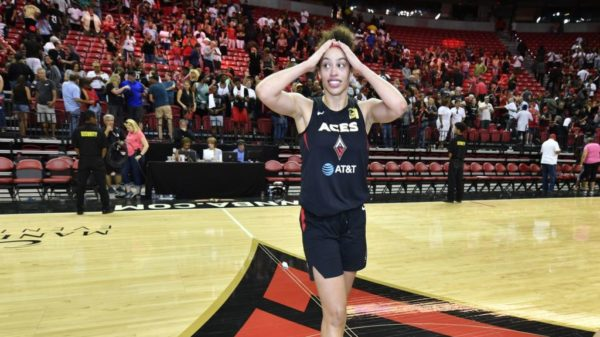 Sparks Storm Seattle, Vegas Aces Chicago In WNBA Playoffs