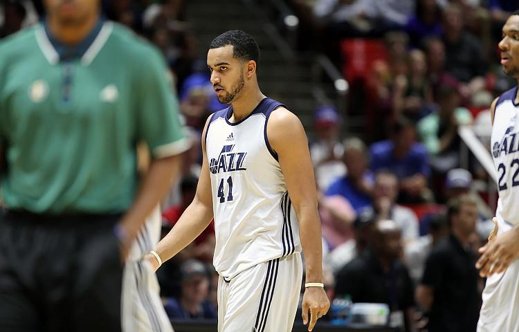 Utah Jazz Trey Lyles Quietly Lighting up 2016 NBA Summer League