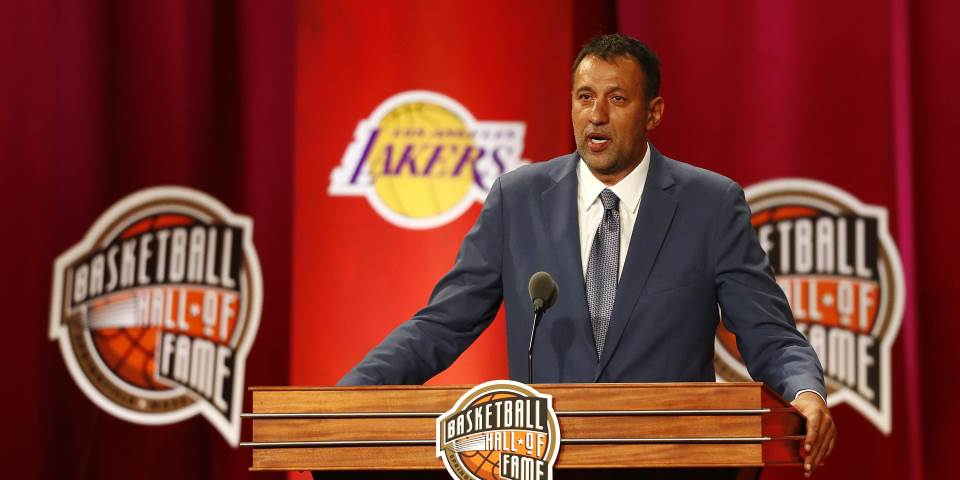 Vlade Divac, King Of The Hall Of Fame