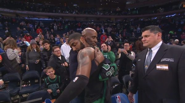 A Father First…Irving With The Most Emotional Jersey Exchange Of The Season