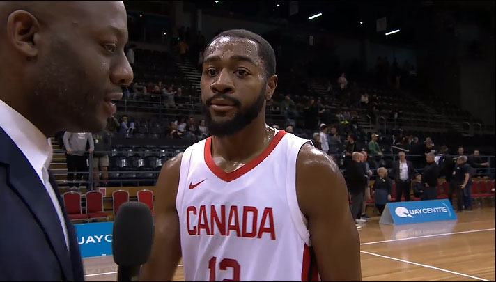 Aaron Best Canada Simply Too Much For New Zealand Tall Blacks