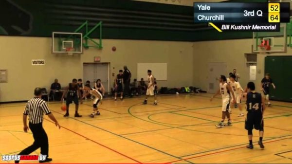 Abbotsford's Yale Lions 6'2 PG Jauquin Bennett Boire Exposes Defender