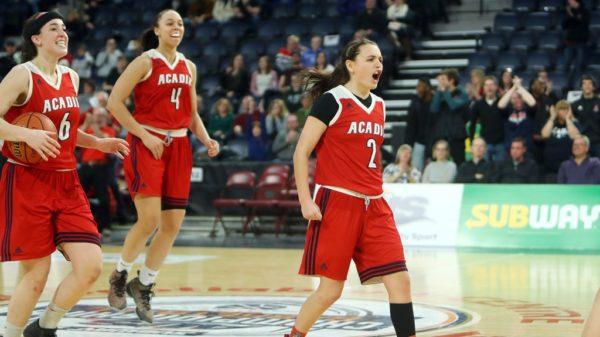 Acadia Axewomen Haley Mcdonald 51 Points Breaks U Sports Basketball Scoring Record