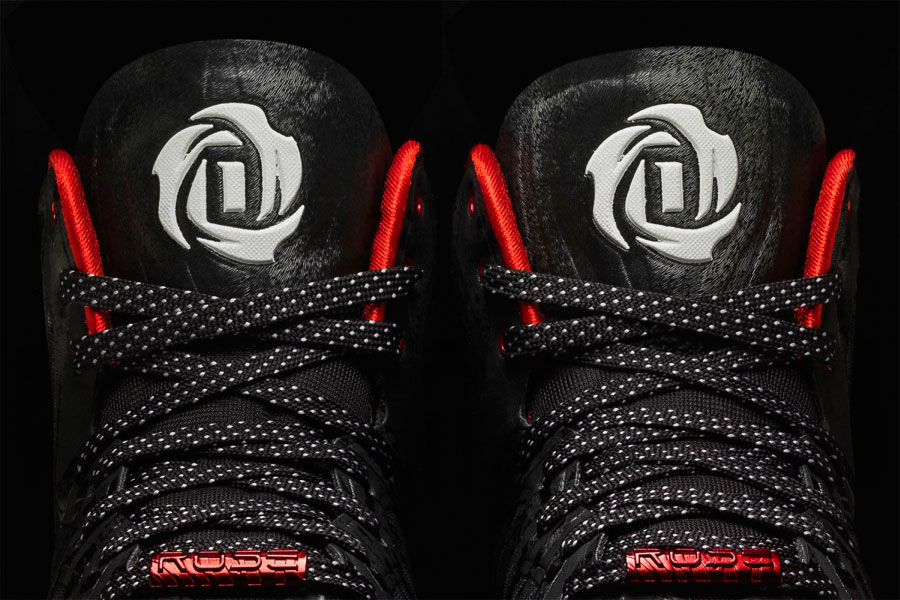 Adidas D Rose 4 5 Chicagos Finest Black Tongue