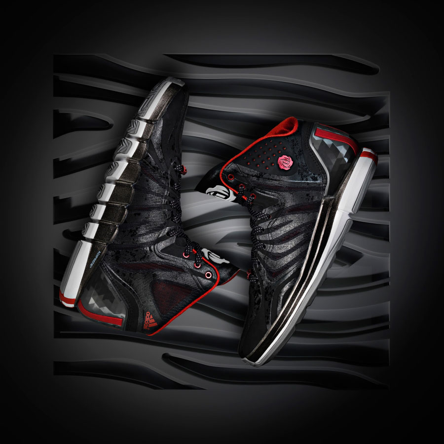 Adidas D Rose 4 5 Chicagos Finest Black