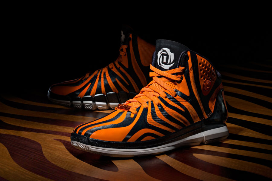 Adidas D Rose 4 5 Chicagos Finest Orange