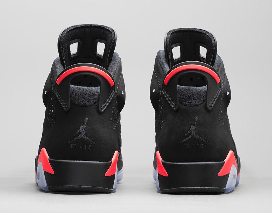Air Jordan 6 Vi Black Infrared