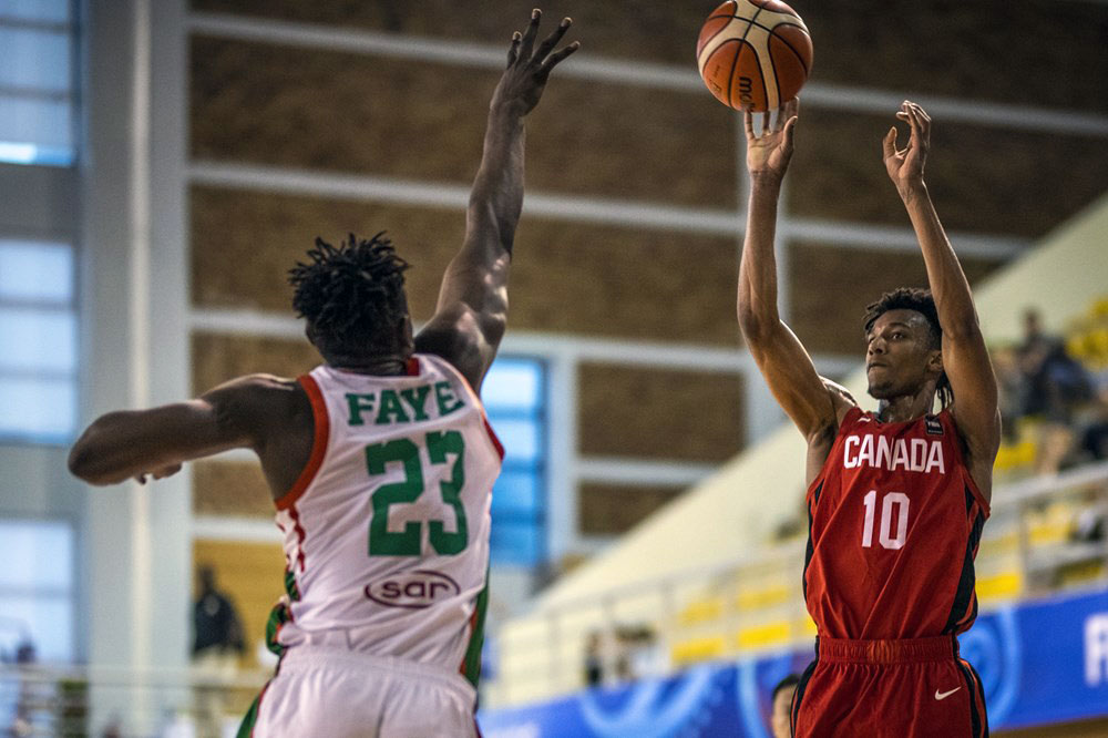 Aj Lawson 31 Points Canada Beats Senegal Advances To Quarter Finals 2019 Fiba U19 World Cup