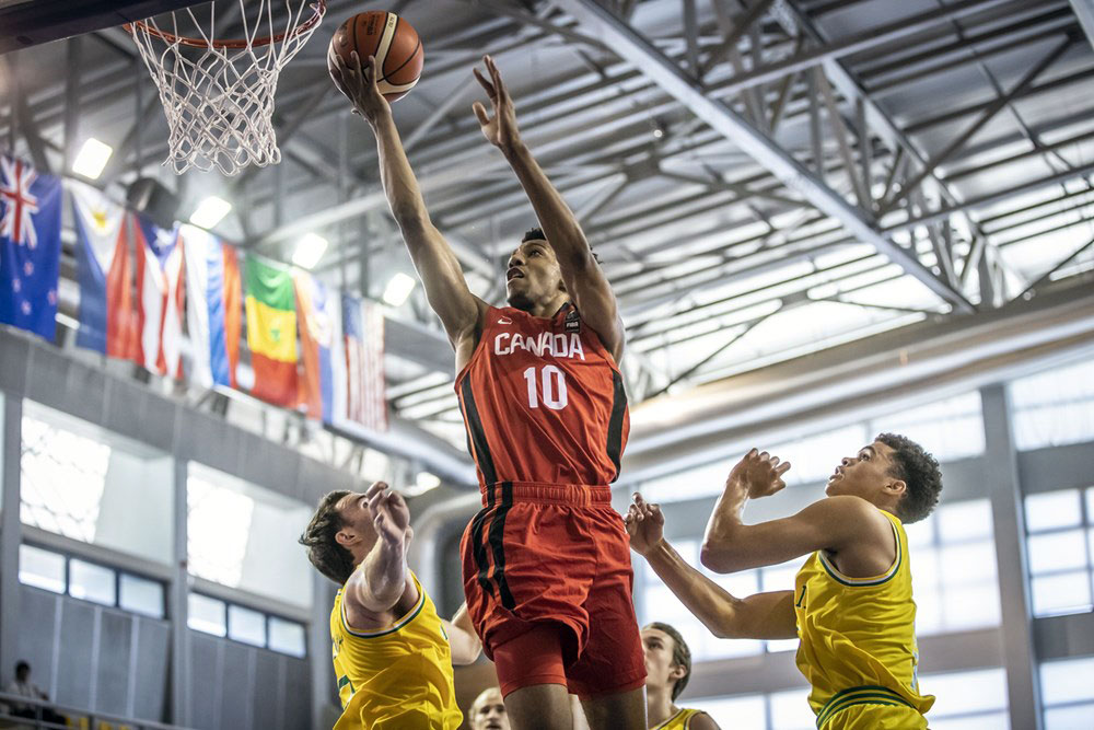 Aj Lawson Canada Wins Fiba U19 World Cup Opener Over Australia