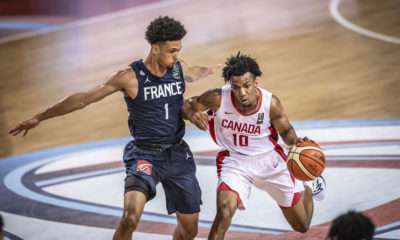Aj Lawson France Slips Past Canada At 2019 Fiba U19 World Cup