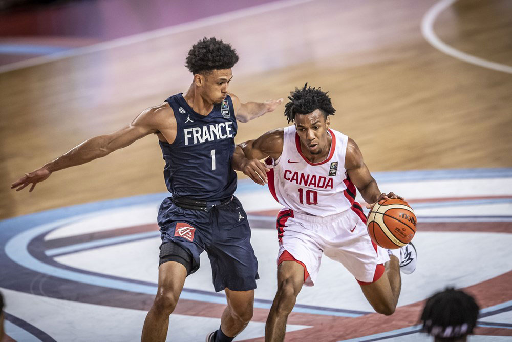 Aj Lawson France Slips Past Canada At 2019 Fiba U19 World Cup