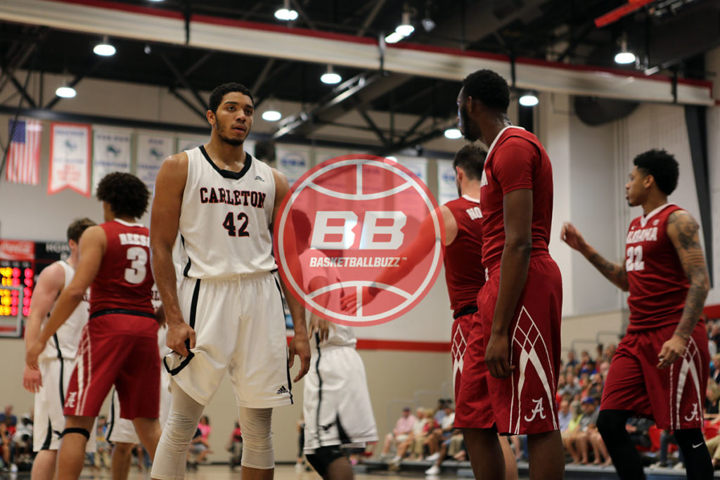 All Canadian Eddie Ekiyor Versus Alabama Crimson Tide