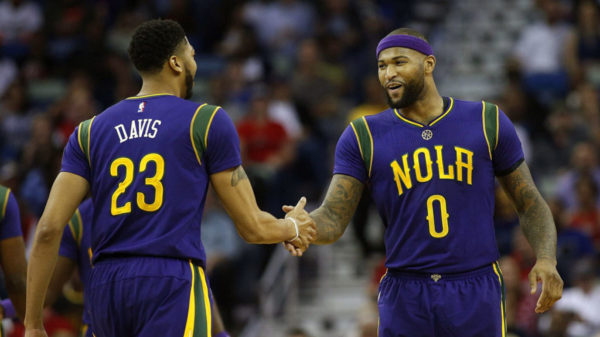 All Star Demarcus Cousins Joins Star Mvp Anthony Davis New Orleans Pelicans