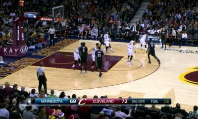Andrew Wiggins 27 points on LeBron James in return to Cleveland