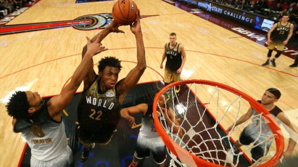 Andrew Wiggins 29 Point Dunk Thon 2016 Nba Star Rising Stars Game